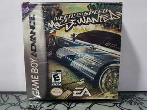 Video Juego Need For Speed Most Wanted Gba Game Boy Advance