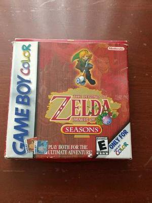 Videojuego Legend Of Zelda Oracle Of Seasons
