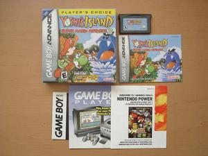 Yoshis Island Para Game Boy Advance Completo Rtg +++++