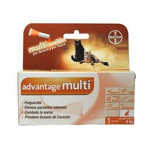 0 A 4 Kg - Pipeta Anti Pulgas Advantage Multi® Gato