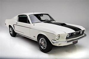 1968 Ford Mustange Gt 428 Cj Fastback Alfombrillas De Raton