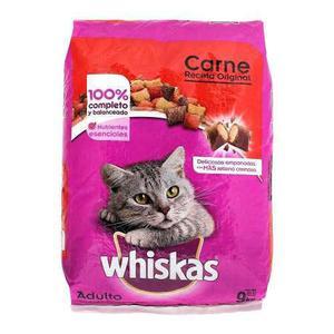 Alimento Para Gato Adulto Whiskas Receta Original 9 Kg