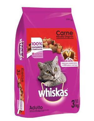 Alimento Para Gato Whiskas La Receta Original 3 Kg