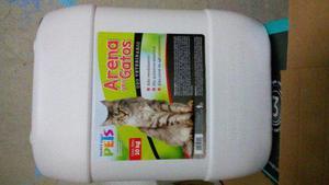 Arena Arenero Gato 10kg Mascota Casa Hogar Limpio Fl3932