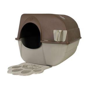 Arenero Auto-limpiable Grande Con Tapete Plastico Gato