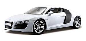 Audi R8, Blanco - Maisto Premiere 36143 - 1/18 Escala Dieca