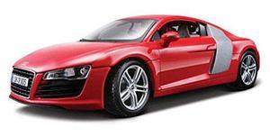 Audi R8, Rojo - Maisto Premiere 36143 - 1/18 Escala Diecast