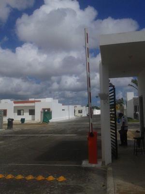 Barreras y plumas de estacionamiento en cancun
