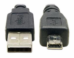 Cable Usb Nikon Coolpix S32 S70 S80 S100 S200 S202 S203 S205