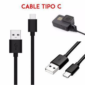 Cable Usb Tipo C Datos Y Carga Para Gopro Hero 5 6 7