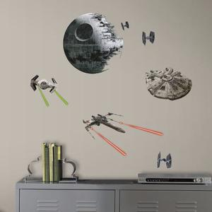 Calcomanías Para Pared De Naves Star Wars