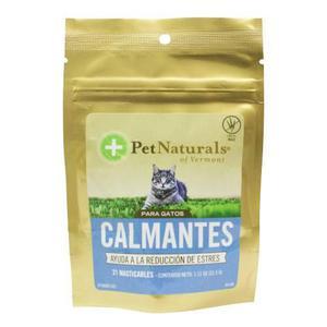 Calmante Natural Para Gatos Pet Naturals Pn007483