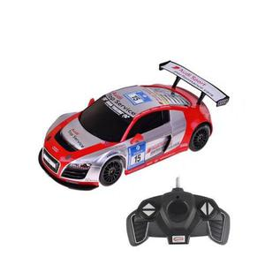 Carro Rastar Audi R8 Lms 1:18 A Control Remoto - Rojo