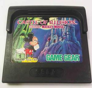 Castle Of Ilusion Mickey Mouse Sega Game Gear Retromex Tcvg