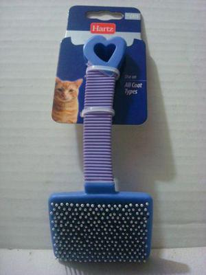 Cepillo Para Gato De Plastico Con Puntas Redondas Hartz