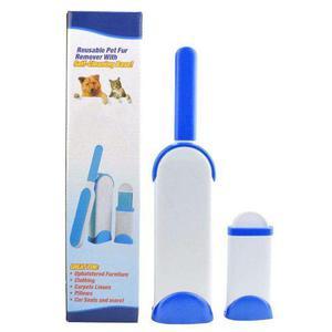 Cepillo Removedor De Pelo De Mascotas Reutilizable Con Base
