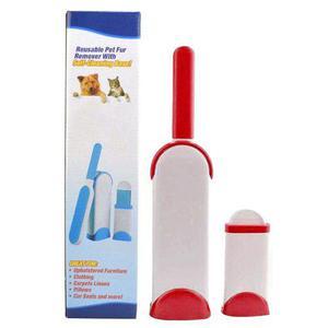 Cepillo Removedor De Pelo Mascota Y Pelusa Reutilizable