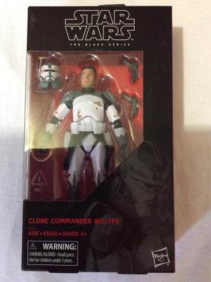 Clone Commander Wolffe Star Wars The Black Series