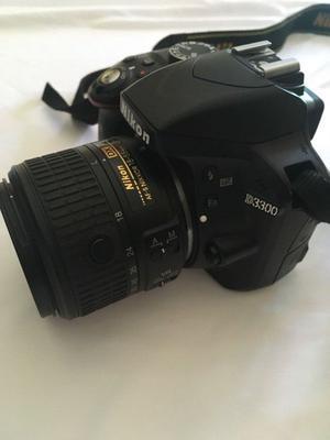 Cámara Digital Nikon D Semiprofesional Con Doble Lente