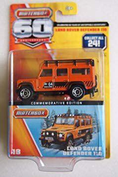Coleccionable Matchbox 60 Aniversario De Land Rover Defende