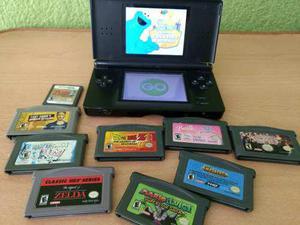 Consola Nintendo Ds Lite Con Muchos Juegos Mario Zelda