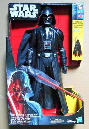 Darth Vader Electrónico Star Wars Rebels Luz Y Sonido 30cm