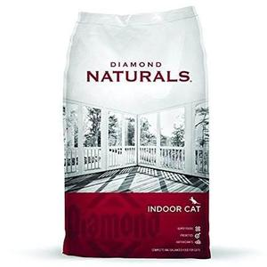 Diamond Indoor Naturals 2.72kg Alimento Para Gato