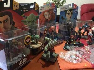 Disney Infinity Figuras Y Discos De Poder