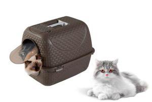 Elegante Arenero Para Gato Importado (italia)