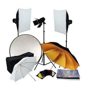Estudio Fotográfico Completo. Kit De Iluminación 540 Watts