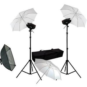 Estudio Fotográfico. Kit De Iluminación 360 Watts