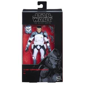 Figura Commander Wolff 6 Pulgadas The Black Series Star Wars