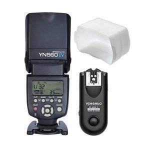 Flash Yongnuo 560 Iv + Difusor Con Rf 603 Para Nikon