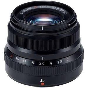 Fujifilm Lente Fujinon Xf 35mm F/2 R Wr Negro New Oferta