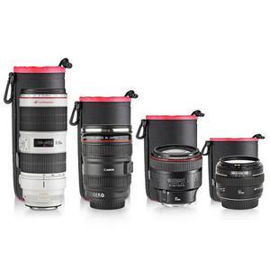 Funda Protectora Para Objetivos Lentes Camara Fotografia