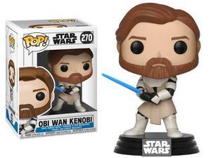 Funko Pop! Star Wars: The Clone Wars - Obi Wan Kenobi