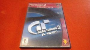 Gran Turismo 3 A-spec Playstation 2