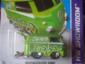 Hot Wheels 2013-175 Hw Showroom Volkswagen Kool Kombi Escal