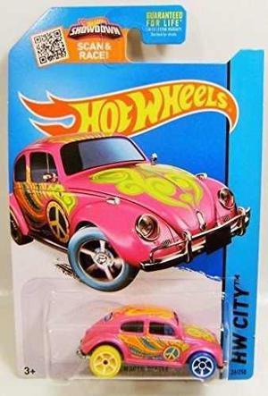 Hot Wheels, 2015 Hw City, Treasure Hunt Volkswagen Beetle [