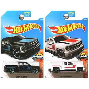 Hot Wheels 2017 Hot Camiones Chevrolet Chevy Silverado Cami