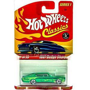 Hot Wheels Classic Series 1: 1967 Dodge Charger #5 Of 25
