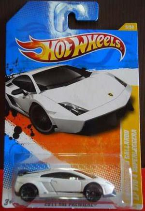 Hot Wheels Lamborghini Gallardo Lp 570-4 Superleggera White