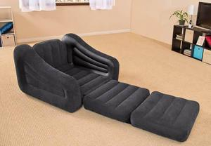 Intex Pull-out Sillón Sofa Cama Inflable