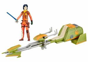 Jedi Ezra Bridger's Speeder Bike Rebels Star Wars Hasbro