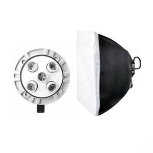Kit De Iluminación Continua Tl-5 Con Softbox Y Socket Godox