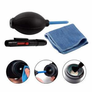 Kit De Limpieza Pro 3 En 1 Para Camaras Celulares Y Mas