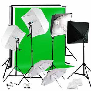 Kit Estudio Fotográfico Softbox Luz Continua Fotografía