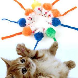 Kit Ratones Para Gato Juguetes