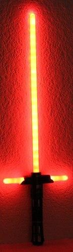 Kylo Ren Sable Con Luz Y Sonidos Star Wars