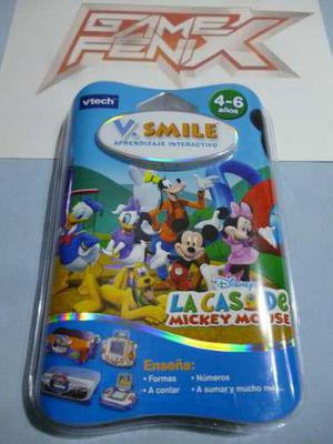 La Casa De Mickey Mouse Para V Smile. V Tech. Game Fenix